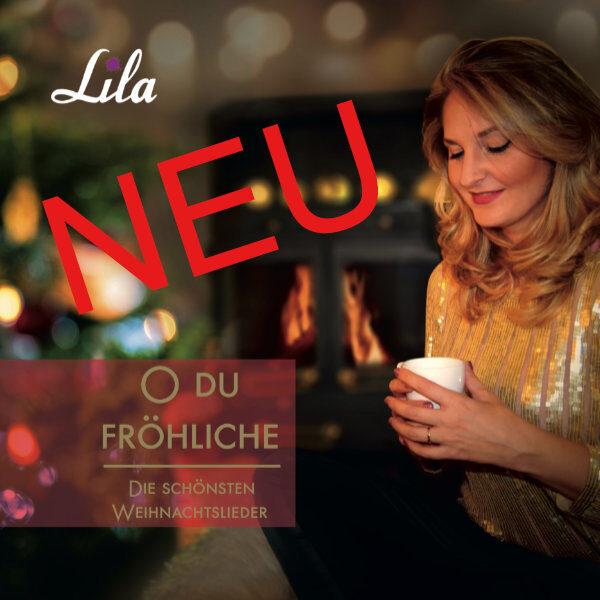 CD mit Weihnachstliedern von Lila