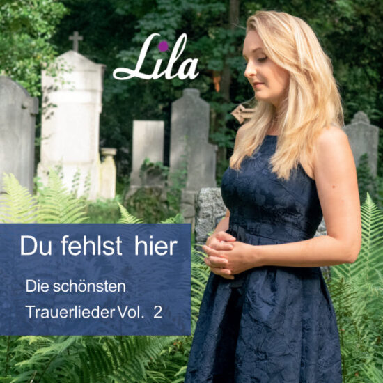 Cover Trauer-CD Sängerin Lila